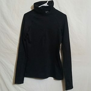 Under Armour Cold Gear Pull Sweater Over Size M